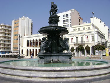 The main square of Patras, square George I